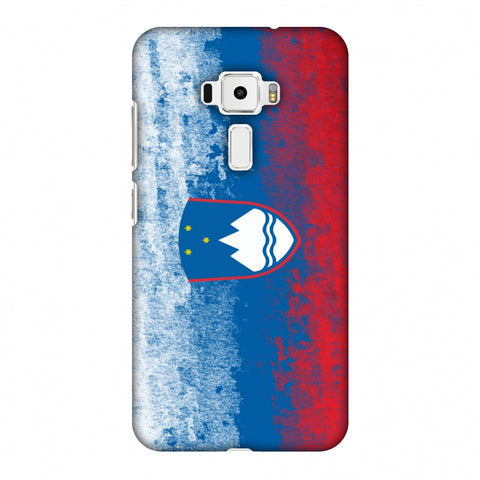Love For Slovenia Slim Hard Shell Case For Asus Zenfone 3 ZE520KL