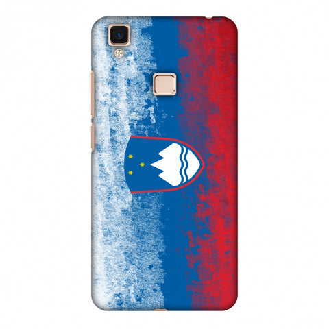 Love For Slovenia Slim Hard Shell Case For Vivo V3 Max