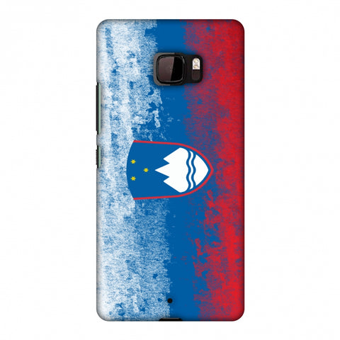 Love For Slovenia Slim Hard Shell Case For HTC U Ultra