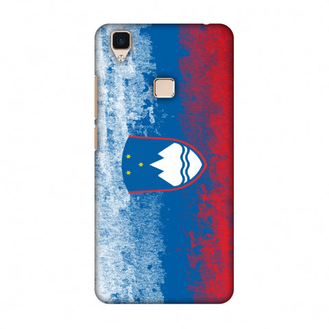 Love For Slovenia Slim Hard Shell Case For Vivo V3