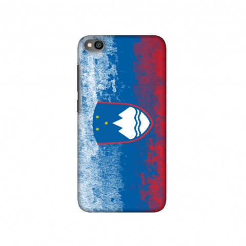 Love For Slovenia Slim Hard Shell Case For Redmi Go