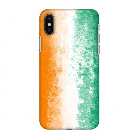 Love For Cote D' Ivoire Slim Hard Shell Case For Apple iPhone X