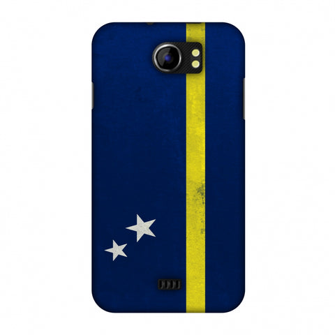 Love For Curacao Slim Hard Shell Case For Micromax Canvas 2 A110