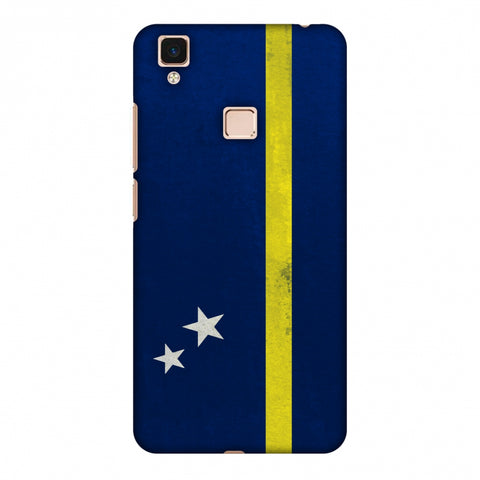 Love For Curacao Slim Hard Shell Case For Vivo V3 Max