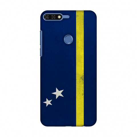 Love For Curacao Slim Hard Shell Case For Huawei Honor 7C