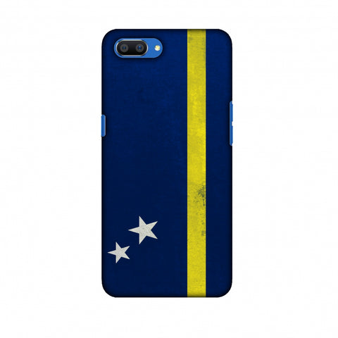 Love For Curacao Slim Hard Shell Case For Oppo Realme C1