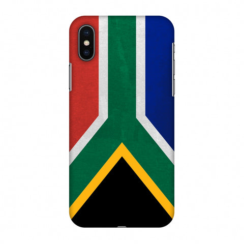 Love For South Africa Slim Hard Shell Case For Apple iPhone X