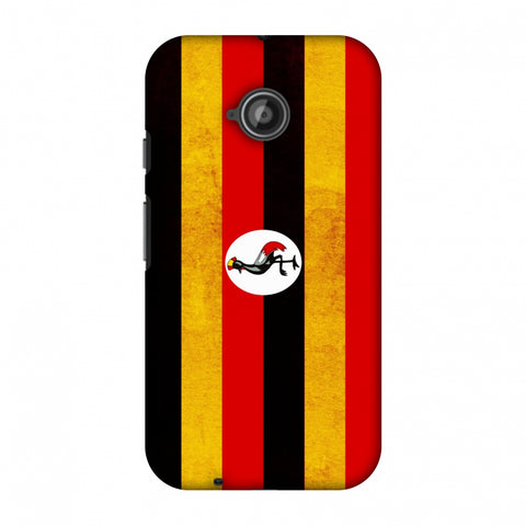 Love For Uganda Slim Hard Shell Case For Motorola Moto E 2nd Gen