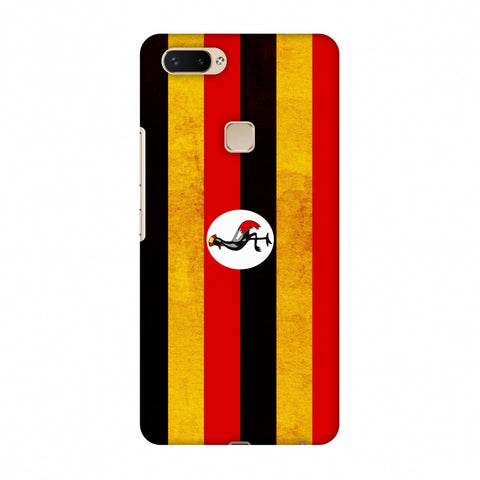 Love For Uganda Slim Hard Shell Case For Vivo X20 Plus