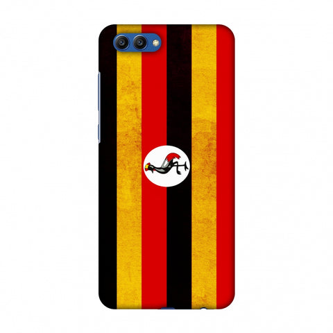 Love For Uganda Slim Hard Shell Case For Huawei Honor View 10
