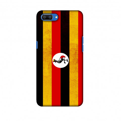 Love For Uganda Slim Hard Shell Case For Oppo Realme C1