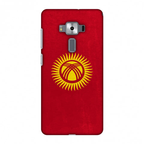 Love For Kyrgyz Republic Slim Hard Shell Case For Asus Zenfone 3 Deluxe ZS570KL