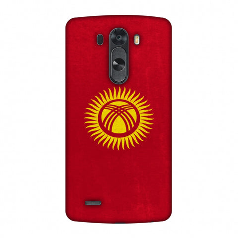 Love For Kyrgyz Republic Slim Hard Shell Case For LG G4
