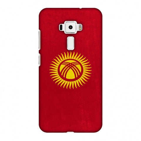 Love For Kyrgyz Republic Slim Hard Shell Case For Asus Zenfone 3 ZE520KL