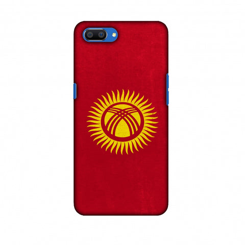 Love For Kyrgyz Republic Slim Hard Shell Case For Oppo Realme C1