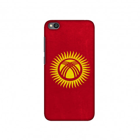 Love For Kyrgyz Republic Slim Hard Shell Case For Redmi Go