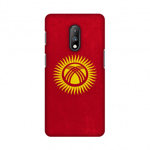 Love For Kyrgyz Republic Slim Hard Shell Case For OnePlus 7