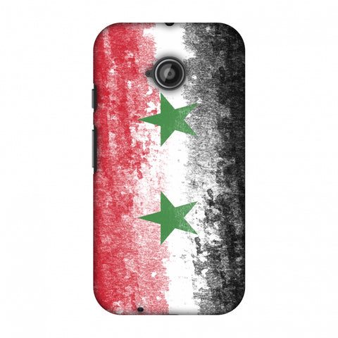 Love For Syria Slim Hard Shell Case For Motorola Moto E 2nd Gen