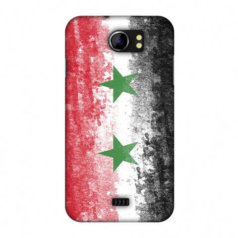 Love For Syria Slim Hard Shell Case For Micromax Canvas 2 A110