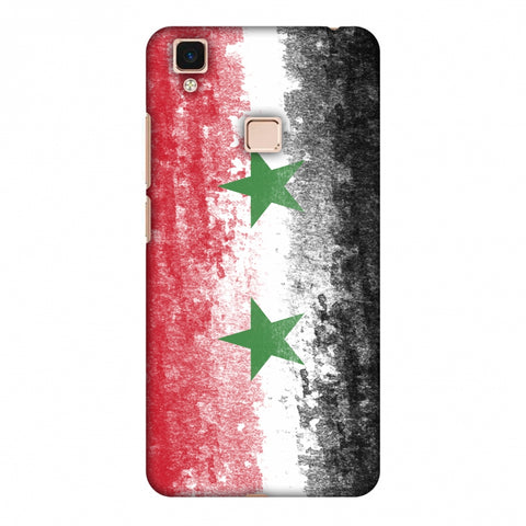 Love For Syria Slim Hard Shell Case For Vivo V3 Max