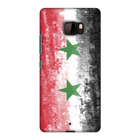 Love For Syria Slim Hard Shell Case For HTC U Ultra