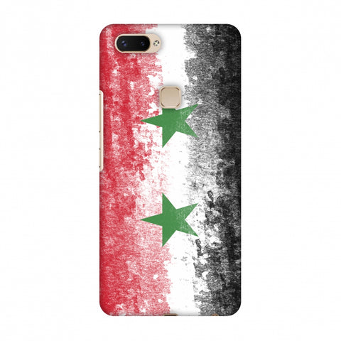 Love For Syria Slim Hard Shell Case For Vivo X20 Plus