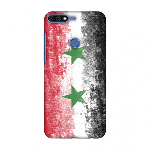 Love For Syria Slim Hard Shell Case For Huawei Honor 7C