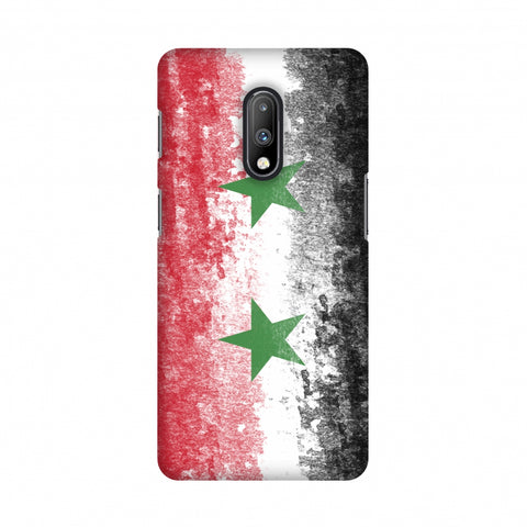 Love For Syria Slim Hard Shell Case For OnePlus 7