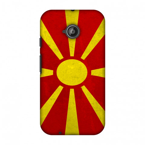Love For FYR Macedonia Slim Hard Shell Case For Motorola Moto E 2nd Gen