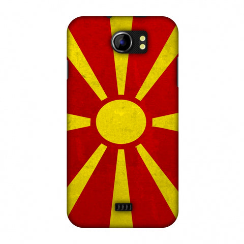 Love For FYR Macedonia Slim Hard Shell Case For Micromax Canvas 2 A110