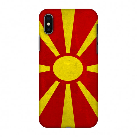 Love For FYR Macedonia Slim Hard Shell Case For Apple iPhone X
