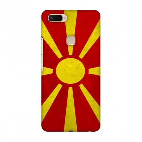 Love For FYR Macedonia Slim Hard Shell Case For Vivo X20 Plus