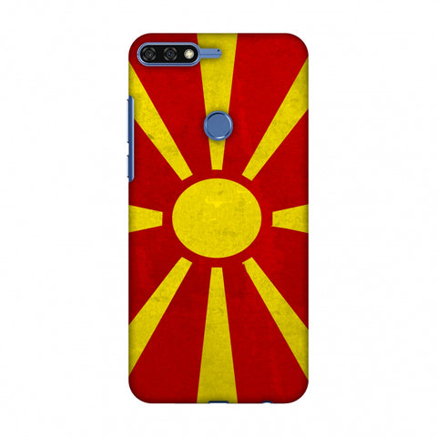 Love For FYR Macedonia Slim Hard Shell Case For Huawei Honor 7C