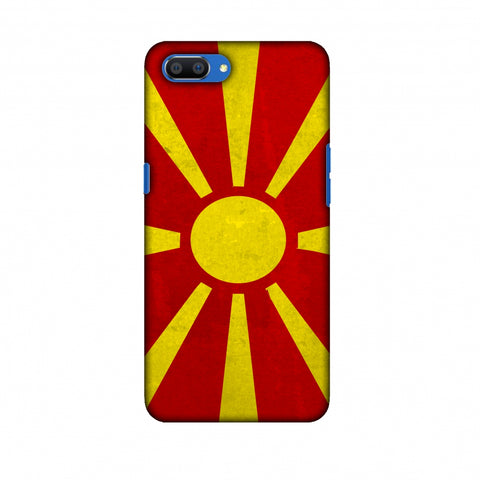 Love For FYR Macedonia Slim Hard Shell Case For Oppo Realme C1