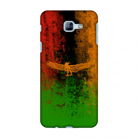 Love For Zambia Slim Hard Shell Case For Samsung Galaxy A8 2016