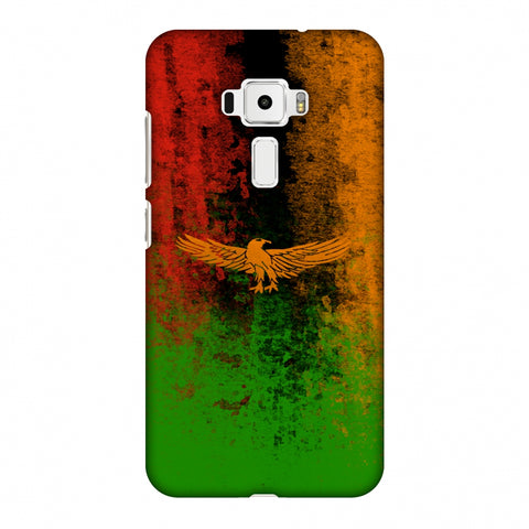 Love For Zambia Slim Hard Shell Case For Asus Zenfone 3 ZE520KL