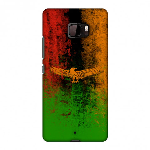 Love For Zambia Slim Hard Shell Case For HTC U Ultra
