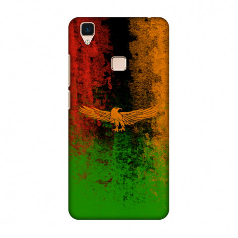 Love For Zambia Slim Hard Shell Case For Vivo V3