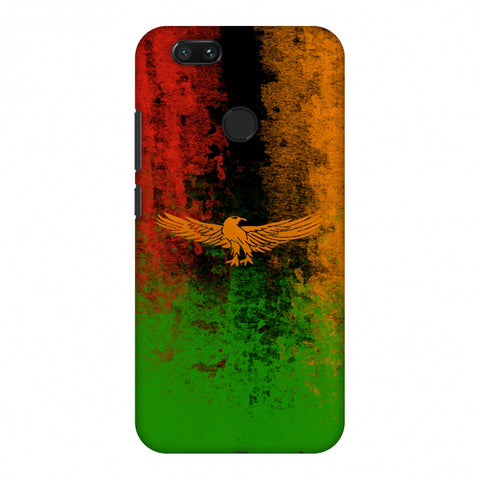 Love For Zambia Slim Hard Shell Case For Xiaomi MI A1-5X