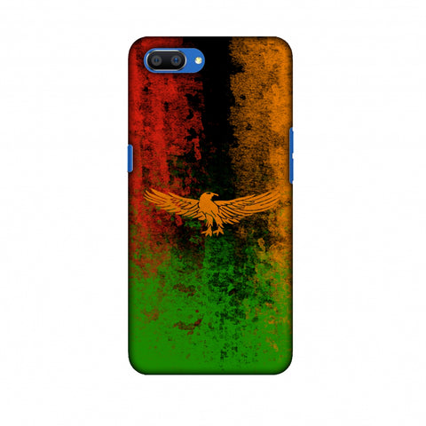 Love For Zambia Slim Hard Shell Case For Oppo Realme C1