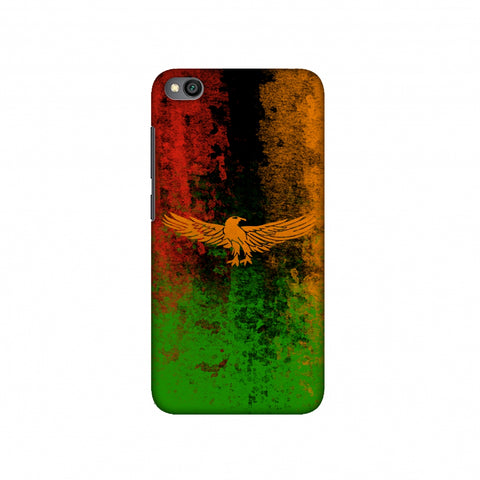 Love For Zambia Slim Hard Shell Case For Redmi Go