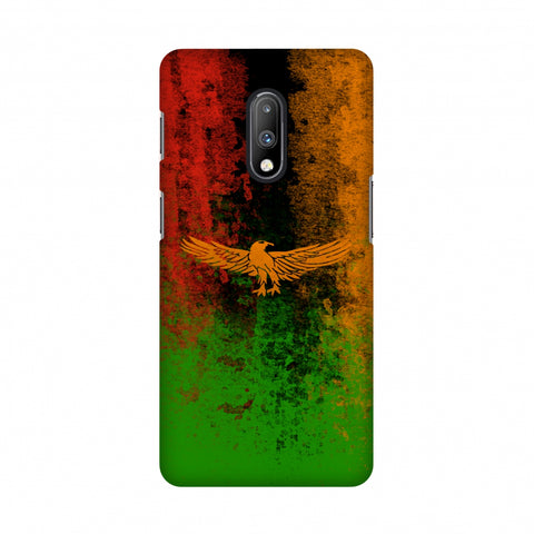 Love For Zambia Slim Hard Shell Case For OnePlus 7