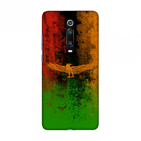 Love For Zambia Slim Hard Shell Case For Redmi K20/K20 Pro