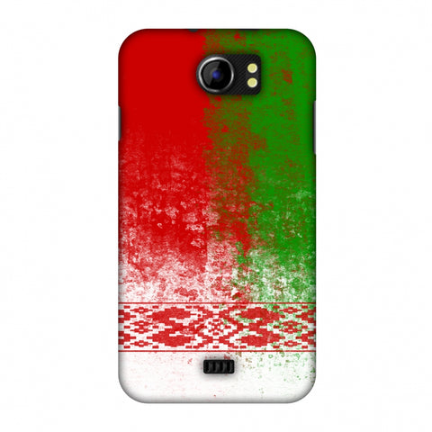 Love For Belarus Slim Hard Shell Case For Micromax Canvas 2 A110