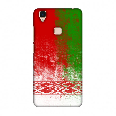 Love For Belarus Slim Hard Shell Case For Vivo V3