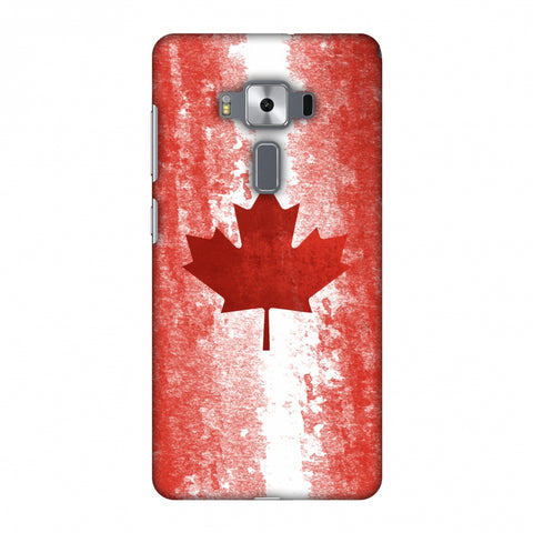 Love For Canada Slim Hard Shell Case For Asus Zenfone 3 Deluxe ZS570KL