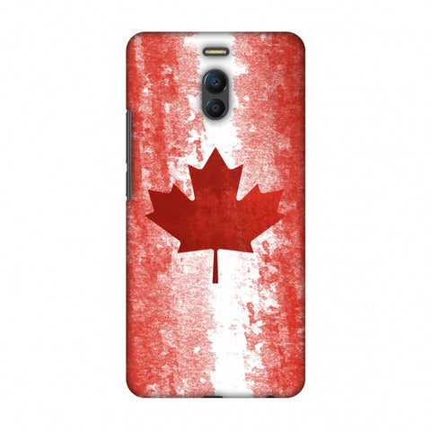 Love For Canada Slim Hard Shell Case For Meizu Note 6