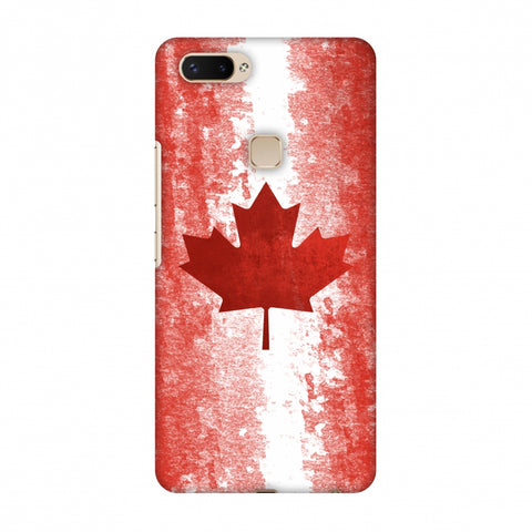 Love For Canada Slim Hard Shell Case For Vivo X20 Plus