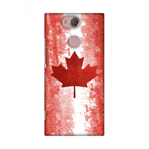 Love For Canada Slim Hard Shell Case For Sony Xperia XA2