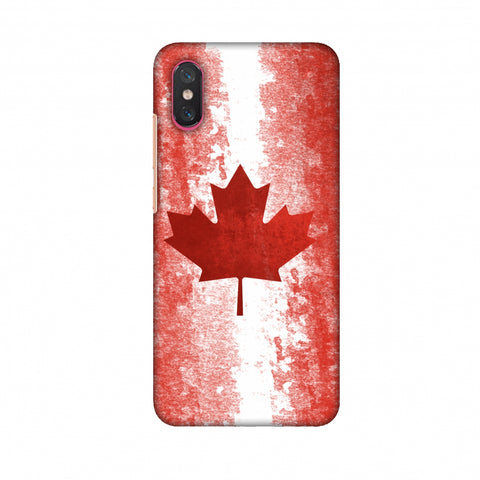 Love For Canada Slim Hard Shell Case For Xiaomi Mi 8 Pro